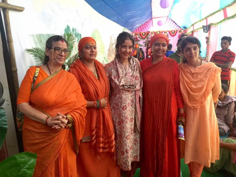 Manisha Koirala at mahakumbh 2016