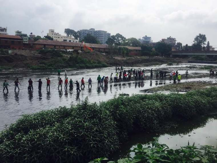 Bagmati River Cleaning Campaign