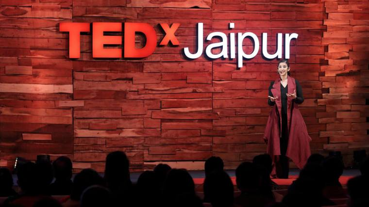 Manisha Koirala TEDx Jaipur